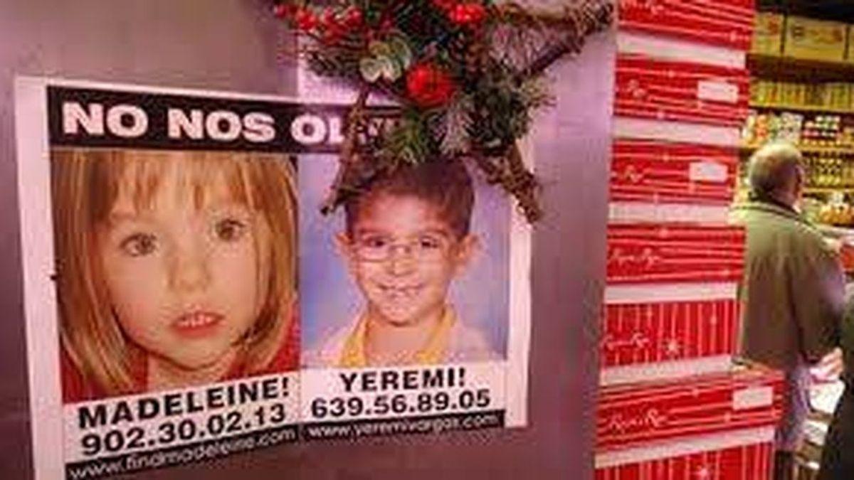 Madeleine McCann y Yéremi Vargas, dos desapariciones sin resolver 13 años después