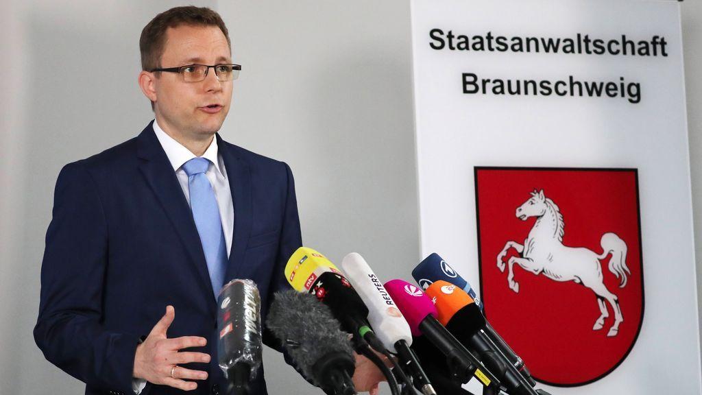 La Fiscalía alemana apunta a Christian Brueckner