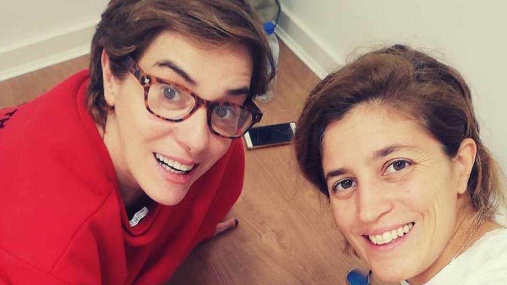 """Anabel Alonso narra emocionada el parto de su hijo Ígor: """"Estuve presente, Heidi está recuperándose"""""""