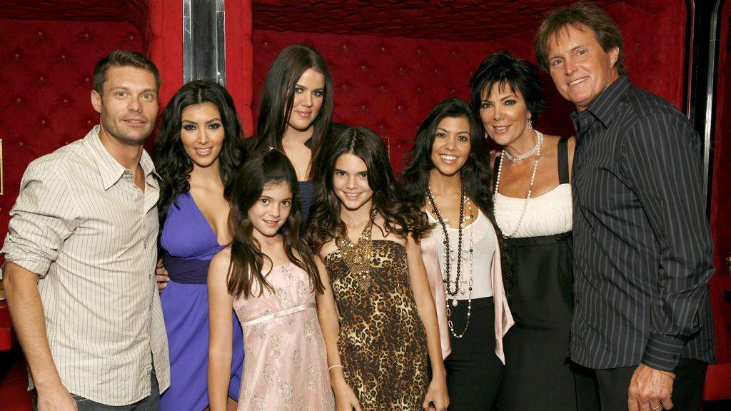 La familia Kardashian-Jenner.