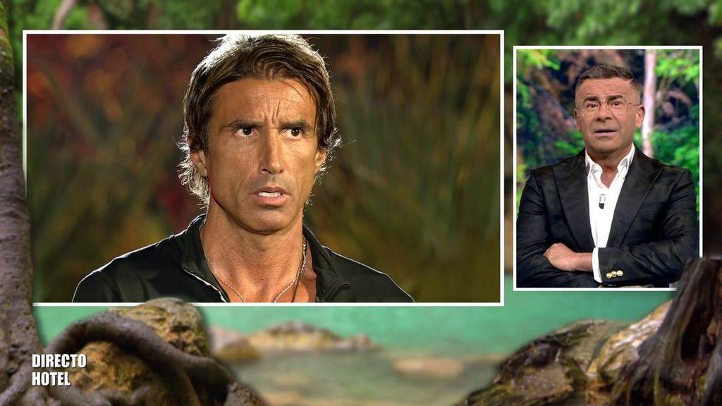 """Hugo anuncia que deja la televisión tras su expulsión y se lleva una lluvia de 'zascas' de Jorge: """"No te lo crees ni tú"""""""