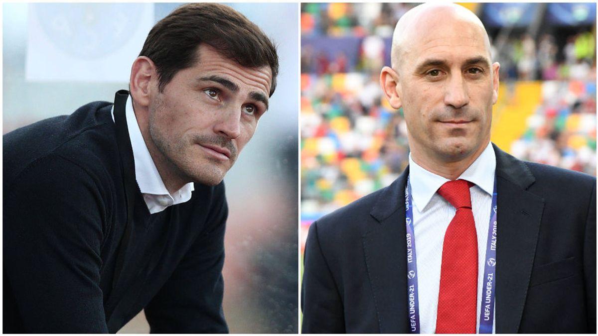 Iker Casillas y Luis Rubiales, próximos candidatos a la RFEF.