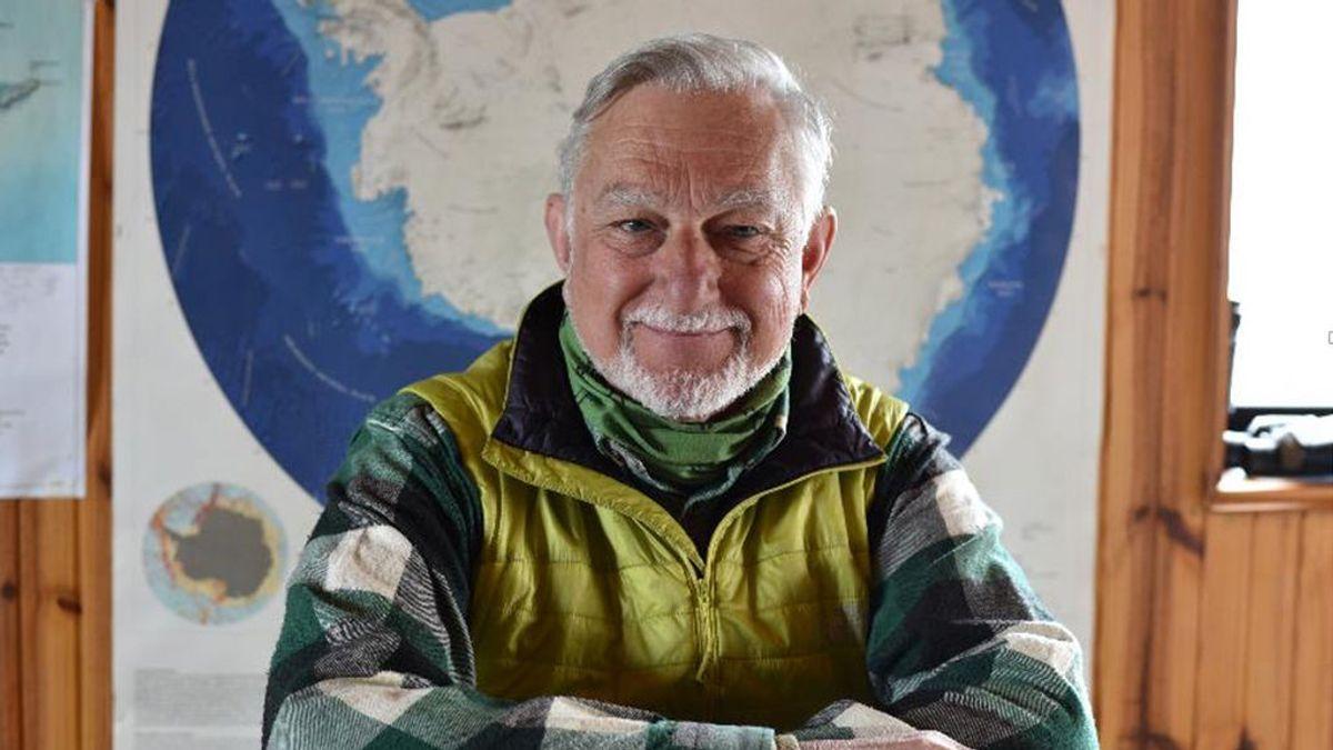 """Javier Cacho, el primer español en poner su nombre a una isla en la Antártida: """"Nunca esperé ver mi nombre junto al de Amundsen"""""""