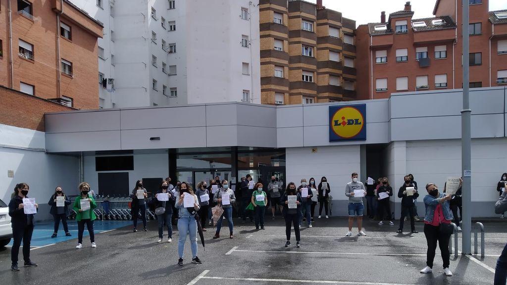 Primera huelga general en Lidl: estos son los motivos