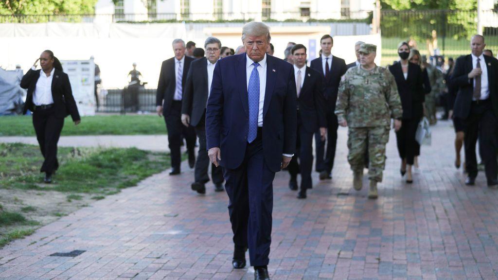 Los expresidentes de EEUU acusan a Trump de querer dividir el país