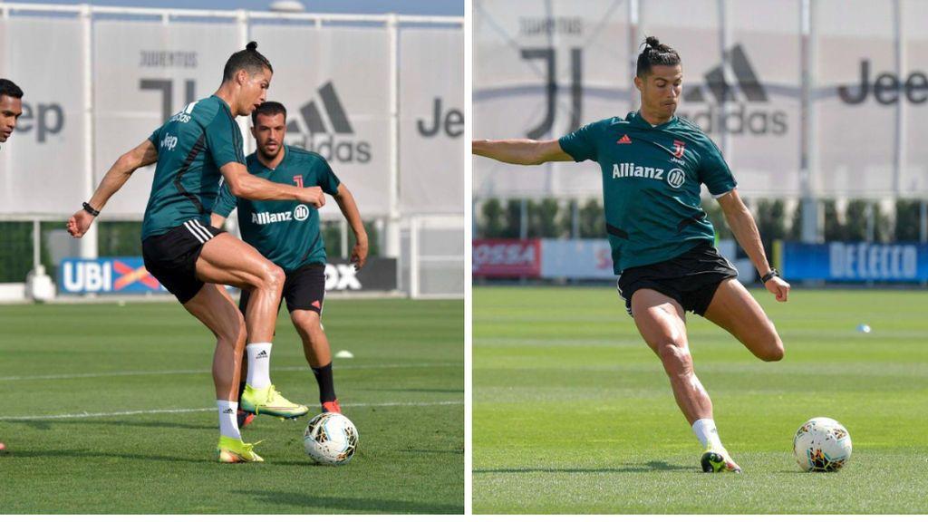 La Juventus enseña sin darse cuenta el truco de Cristiano Ronaldo para ser más rápido: el secreto está en las botas