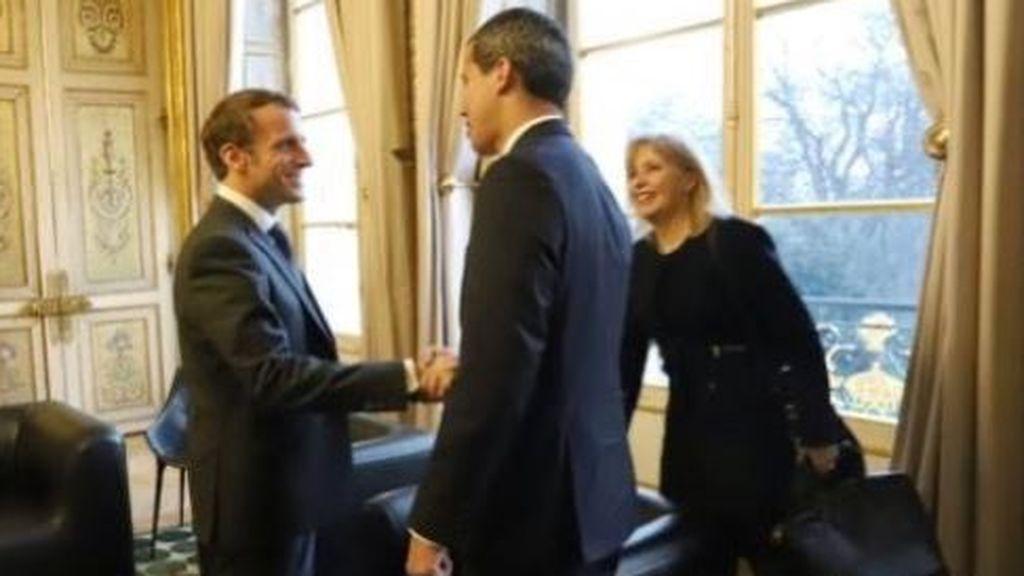Francia niega que Guaidó esté en su embajada de Caracas
