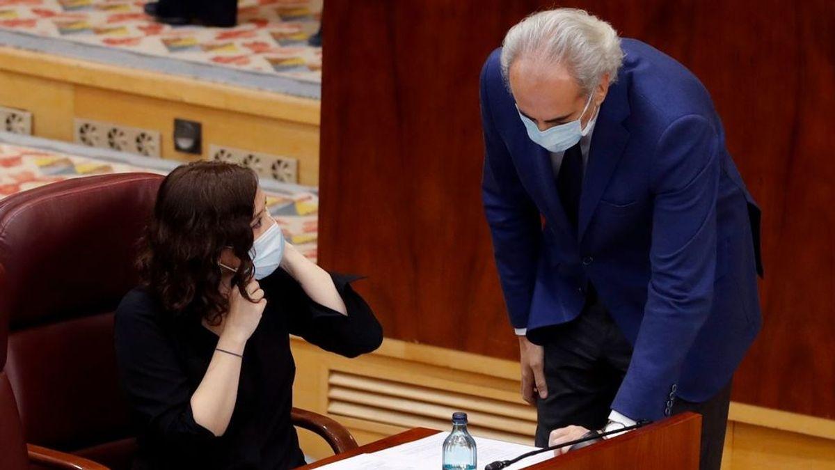 La orden de no hospitalizar ancianos, la última batalla entre los socios de gobierno de la Comunidad de Madrid