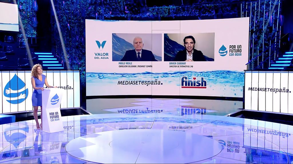 Mediaset España crea junto a Finish la campaña #PorUnFuturoConAgua, con la que inaugura el sello VALOR MEDIASET para apoyar a las marcas en sus acciones de comunicación social