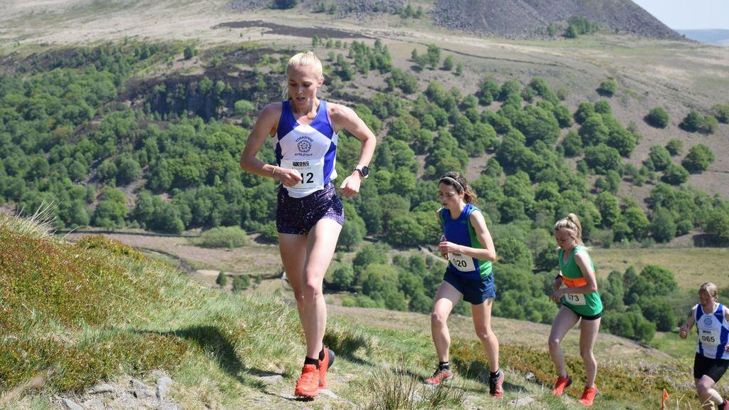 Atletas en una competición de Fell Running