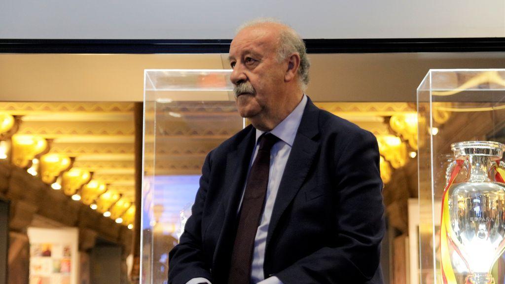 """Vicente del Bosque: """"Pedro Sánchez me ofreció hacer algo en política pero le dije que no"""""""