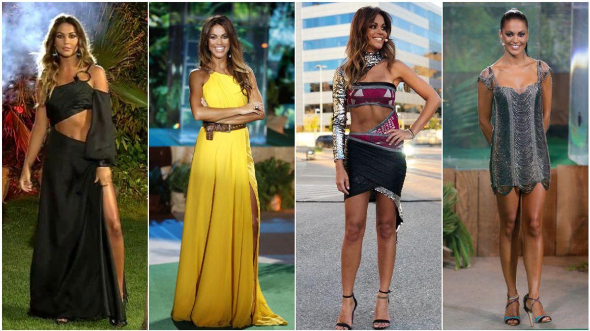 Todos los looks de Lara Álvarez para las finales de 'Supervivientes': vota por tu favorito