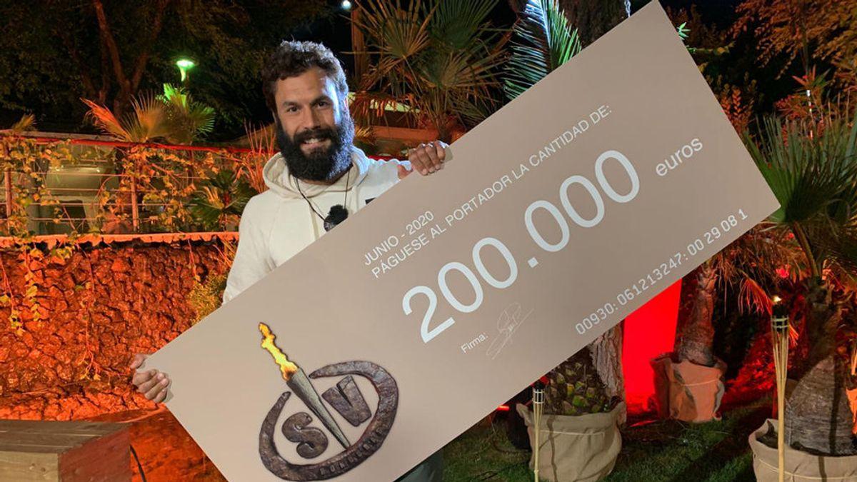 Jorge Pérez se convierte en el ganador de 'Supervivientes 2020'
