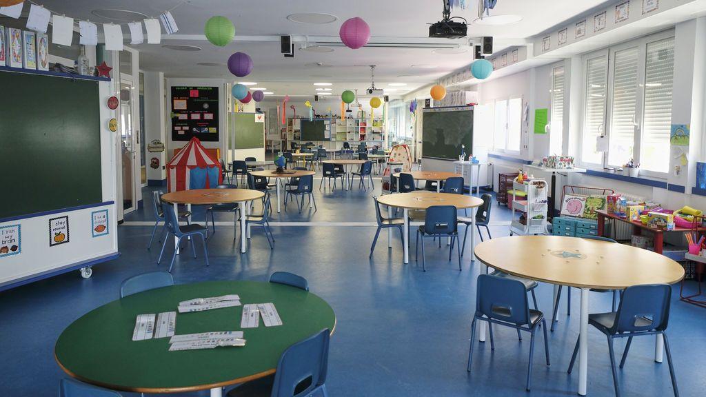 Madrid planea que los niños de Infantil y Primaria vayan todos los días al colegio a partir de septiembre