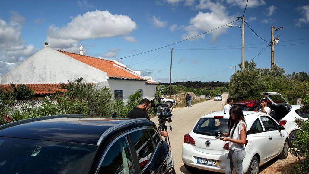 Casa donde vivio el sospechoso de asesinar a Madeleine