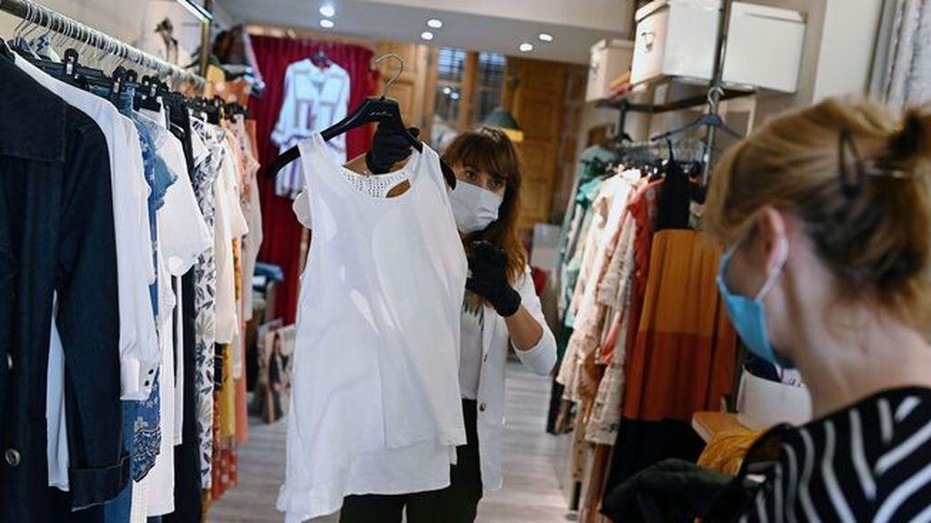 Las ventas de prendas de moda se hunden un 72,6% en mayo por el coronavirus