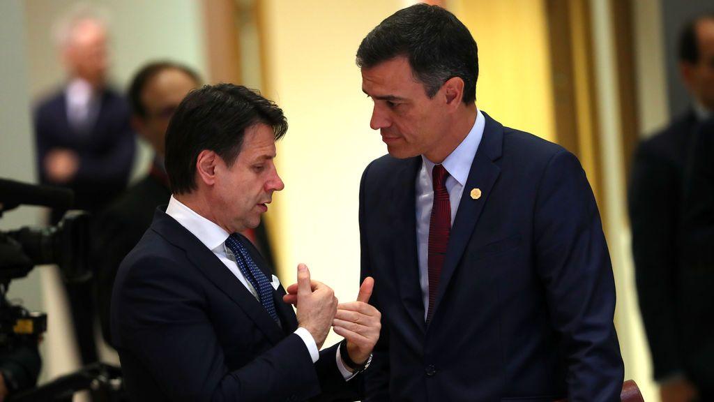 Sánchez y Conte envían una carta a Bruselas para pedir igualdad en la reapertura de fronteras