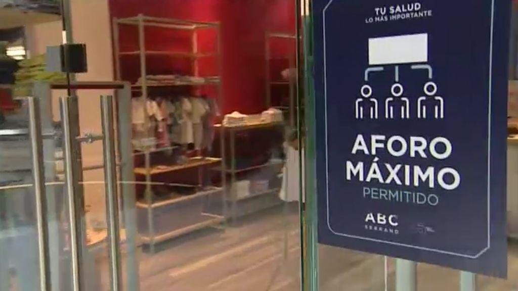 Los centros comerciales de Madrid preparan su apertura