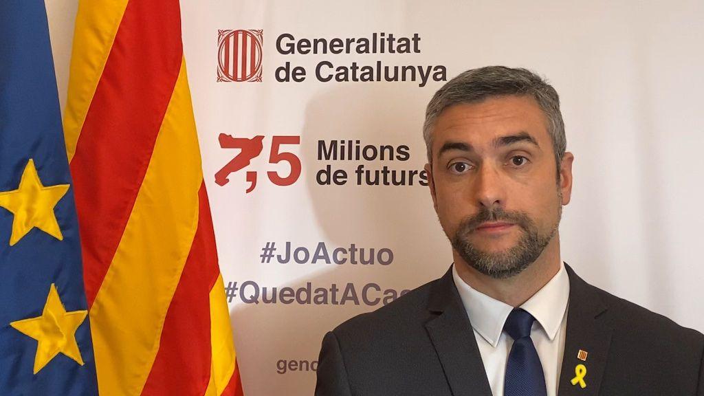 """El conseller catalán investigado por el TSJC por presunta desobediencia: """"El 1-O fue la máxima expresión de democracia"""""""