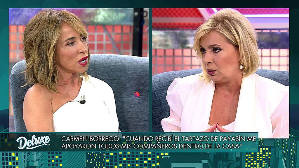 El cara a cara definitivo entre María Patiño y Carmen Borrego