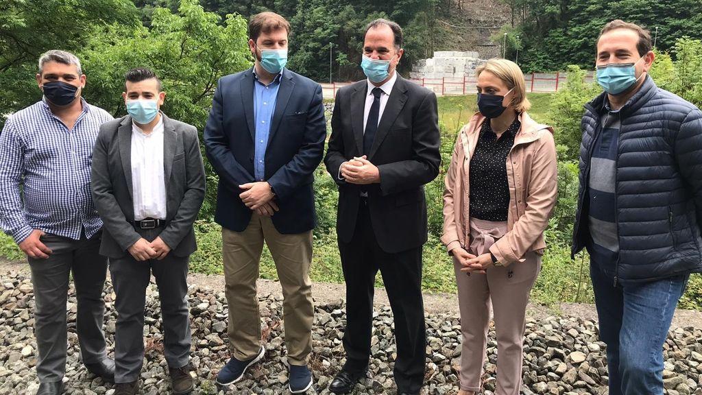 """Iturgaiz denuncia el """"silencio impuesto"""" del PNV sobre el vertedero de Zaldibar para """"tapar sus vergüenzas"""""""