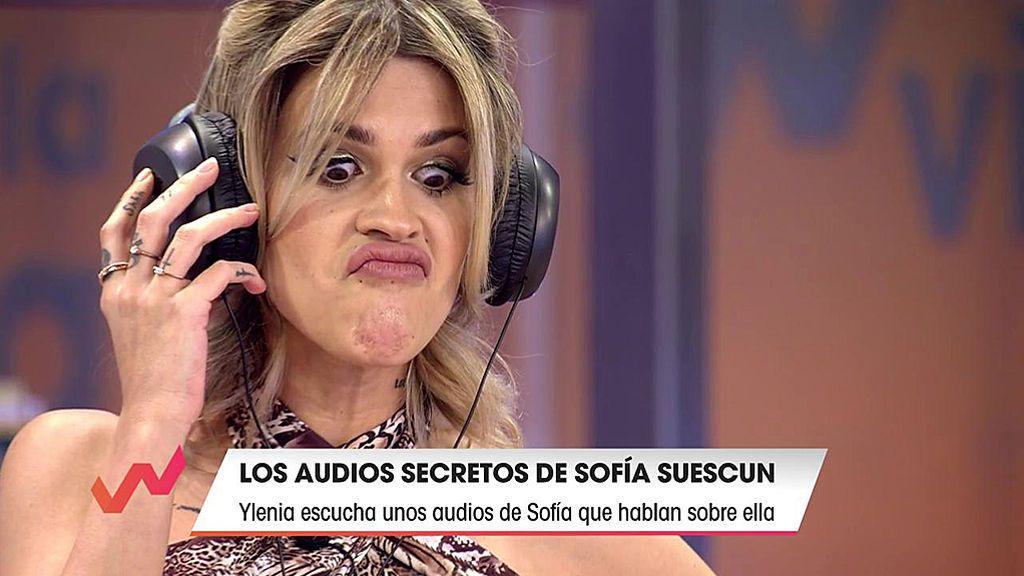 Ylenia reacciona al audio de Sofía Suescun