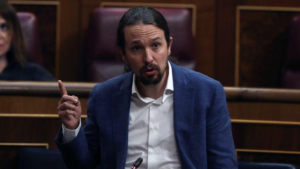 """Pablo Iglesias: """"La derecha de berrinche y cacerola no gobernará España"""""""