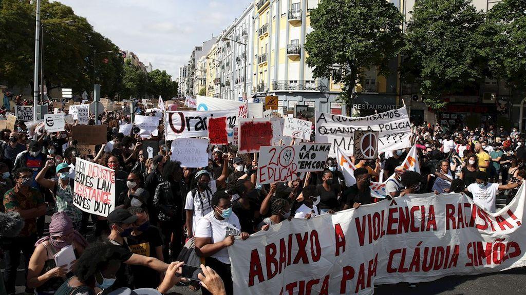 Protesta en Lisboa