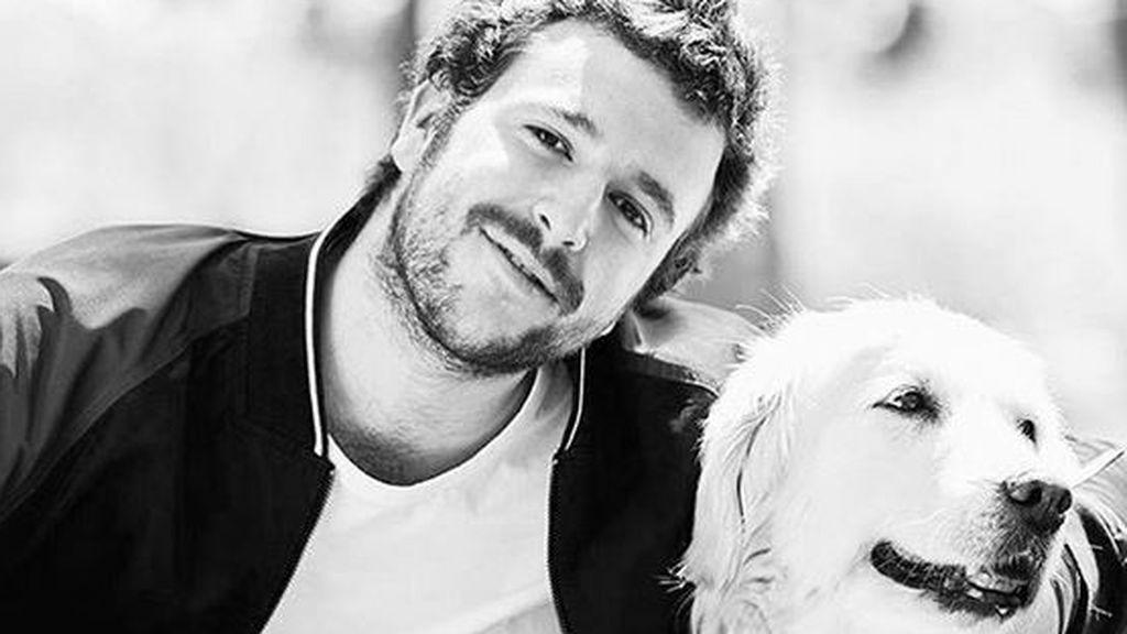 """Muere la perra de Álex Lequio: """"Sé que se ha ido de pena, para poder estar contigo"""""""