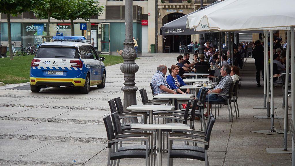 La policía municipal desaloja una fiesta con más de 200 personas en Pamplona