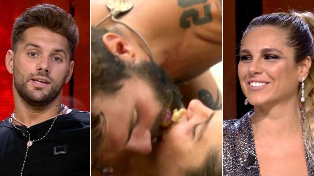 Barranco e Ivana hacen frente a su momento más sensual: la tarta comida a lamentones