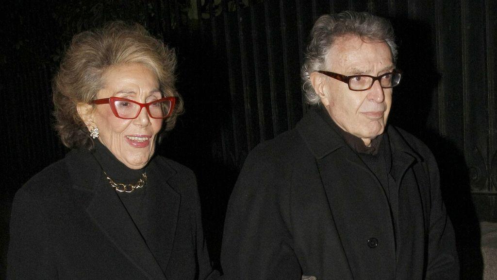 Pepe Martín, con su esposa, en una imagen de 2012.