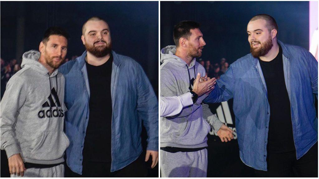 Ibai Llanos y Leo Messi hacen las paces después de su polémico saludo gracias a Agüero