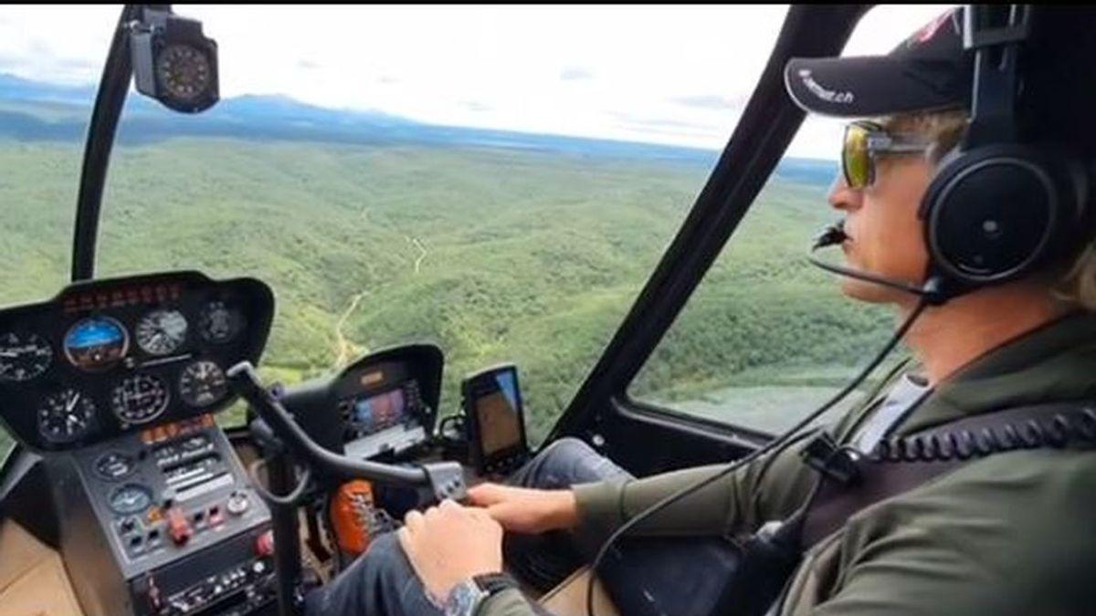 """Jesús Calleja retoma el rodaje de 'Volando voy' tras el confinamiento: """"No se puede tener más motivación"""""""