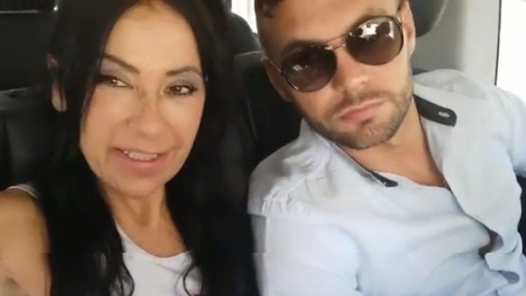 """El objetivo familiar de Maite Galdeano al concursar con Cristian Suescun: """"A ver si me acerco a este hijo"""""""