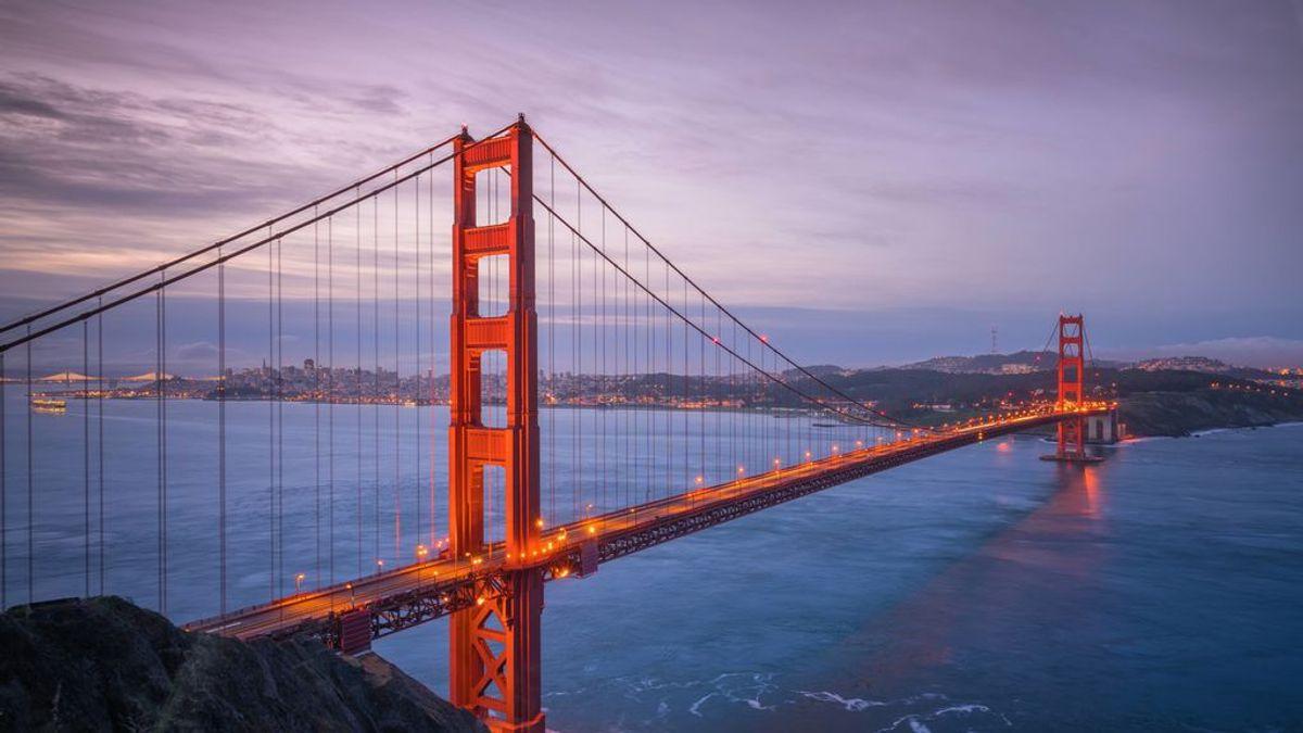 El Golden Gate tiene una nueva característica única: silbidos que se oyen a kilómetros de distancia