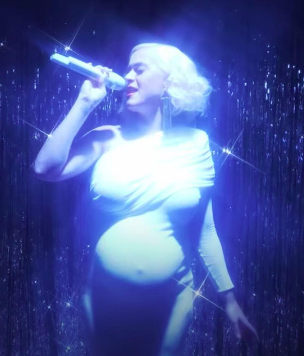 Katy Perry, en la recta final de su embarazo