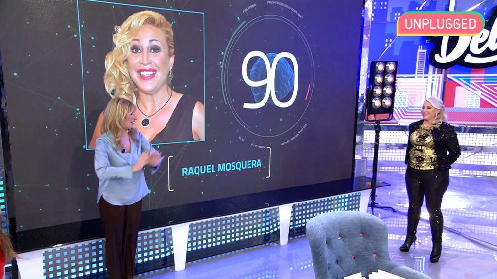 Raquel Mosquera en 'Sábado Deluxe'