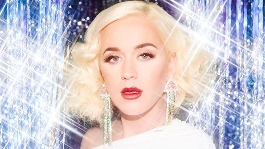 A lo Marylin y a punto de dar a luz: Katy Perry reaparece en la recta final de su embarazo