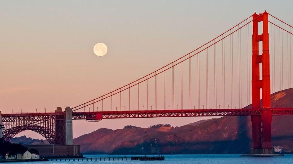 La melodía del Golden Gate: la reforma del puente de San Francisco hace que suene cuando sopla viento