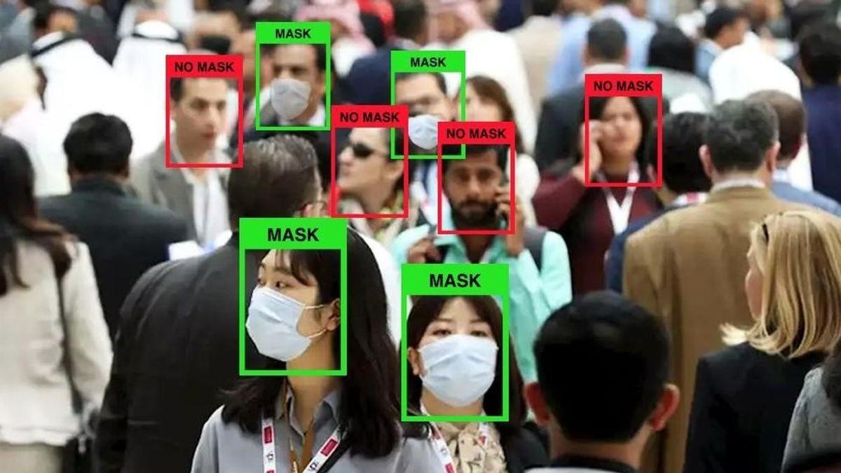 Desarrollan una tecnología que permite detectar el uso de mascarillas