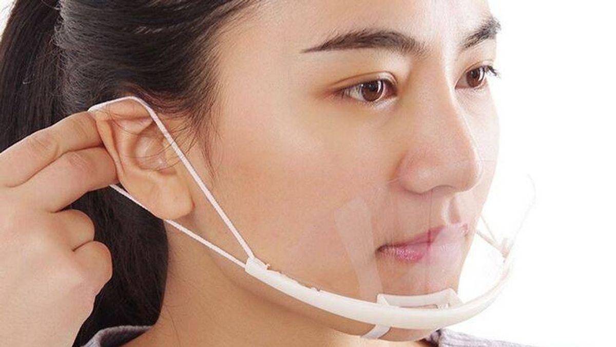 Empezarán a producir primera mascarilla quirúrgica enteramente transparente