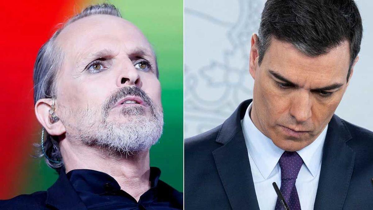 """Miguel Bosé, ahora contra Pedro Sánchez, Bill Gates y su """"plan macabro"""" del 5G"""