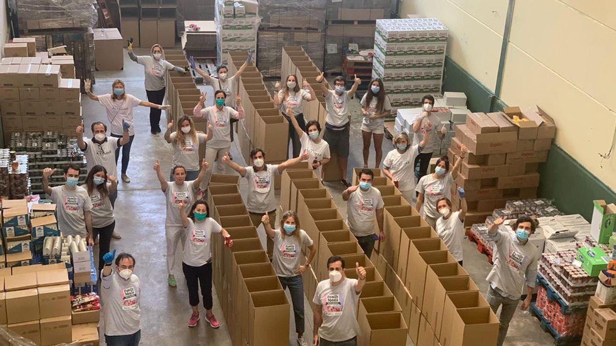 Una iniciativa solidaria logra alimentar a 600 familias de Usera, Tetuán, Villaverde y Puente de Vallecas