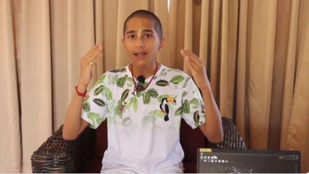 """No, un niño indio no """"predijo"""" el coronavirus: habló de enfermedades que se extenderían por el mundo"""