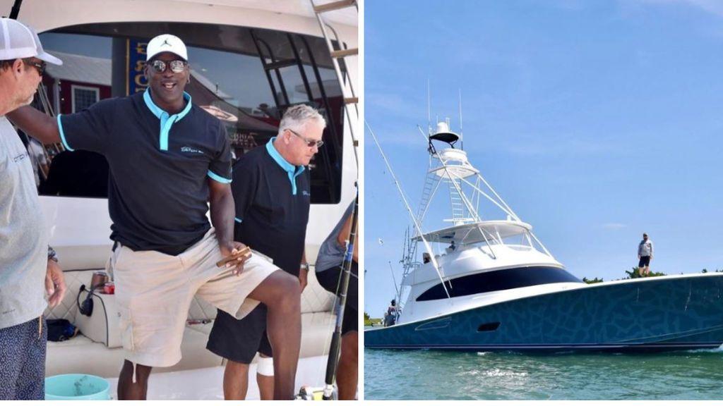 Michael Jordan aparece en una competición de pesca con un barco de seis millones de euros y gana el primer premio