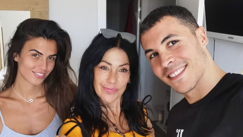 La despedida de Maite Galdeano, Sofía Suescun y Kiko Jiménez