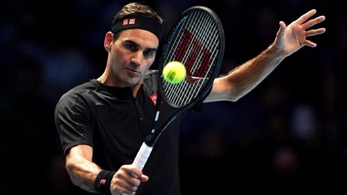 Roger Federer, en un partido.