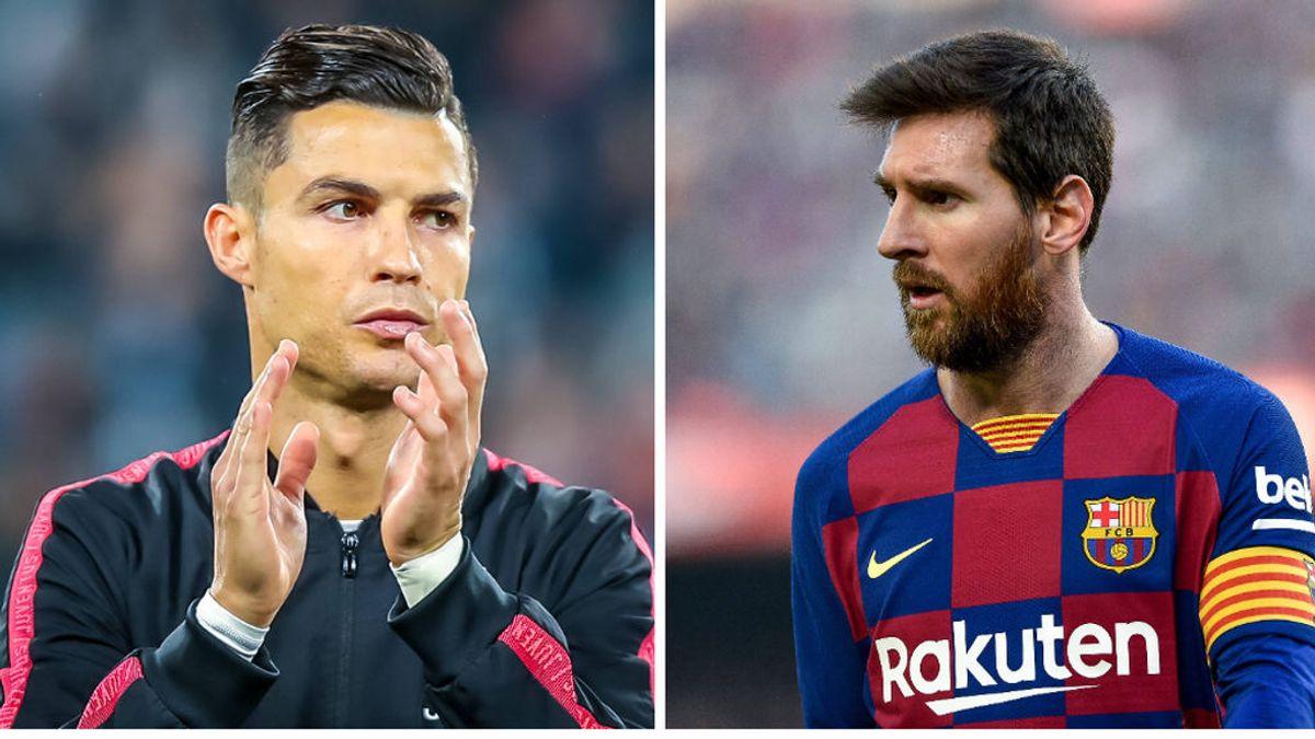 Un estudio de 'big data' prueba que Leo Messi es el doble de bueno jugando al fútbol que Cristiano Ronaldo
