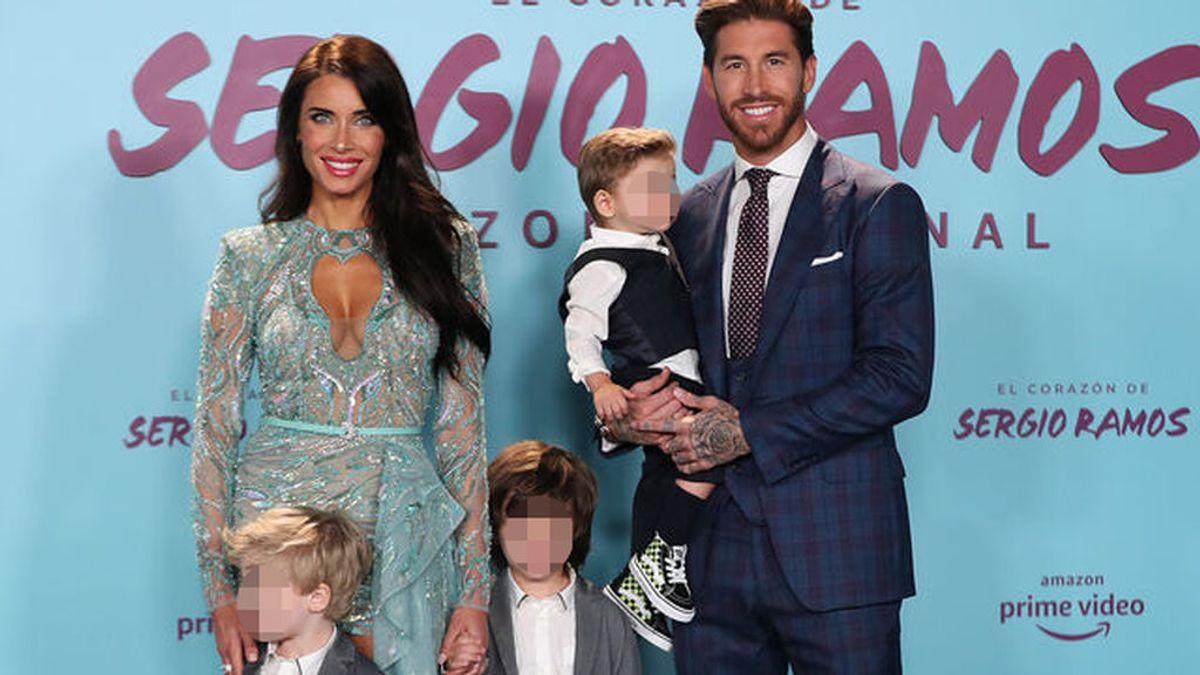 Los hijos de Pilar Rubio y Sergio Ramos: así son los hermanos que tendrá ¿la futura bebé?